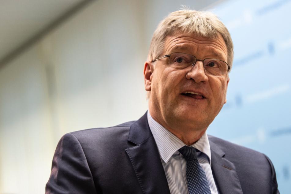 AfD-Bundessprecher Jörg Meuthen ist nach Habecks Auftritt auf 180.
