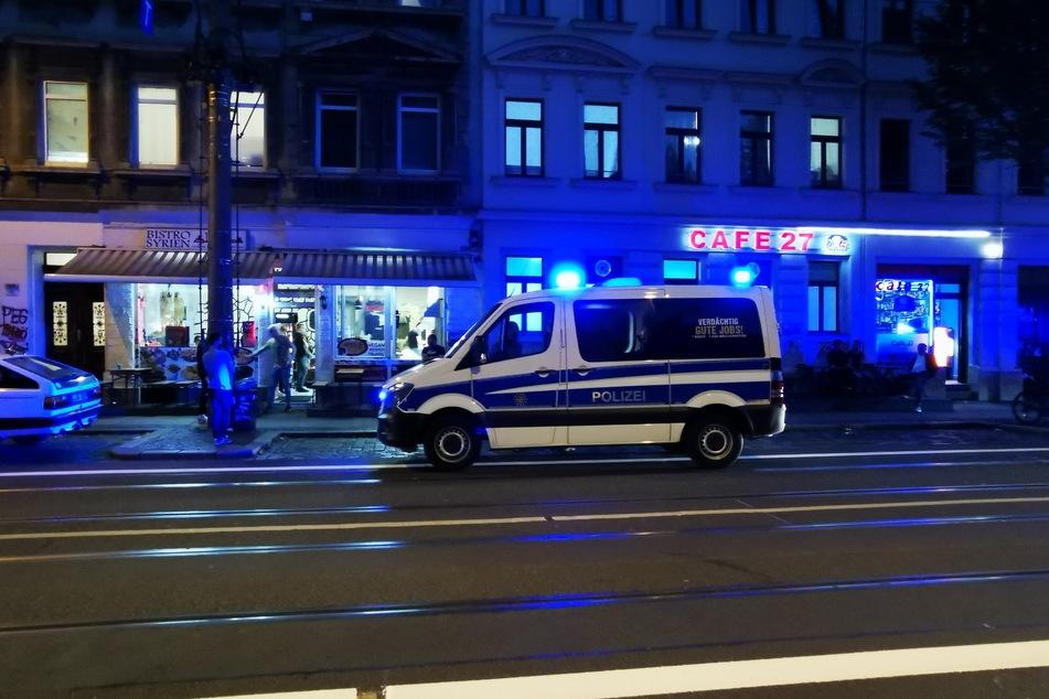 Leipzig: Leipzig: Gewalttätige Auseinandersetzung auf der Eisenbahnstraße