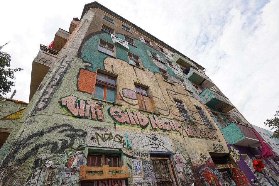 "Das linksradikale Hausprojekt ""Liebig 34"" soll geräumt werden."