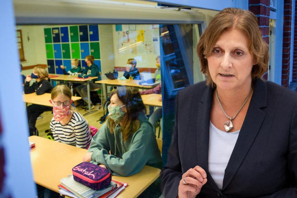 Brandenburgs Bildungsministerin Britta Ernst (59, SPD) will die Digitalisierung des Unterrichts in den Mittelpunkt ihrer Präsidentschaft der Kultusministerkonferenz stellen und Schulen so lange wie möglich offen halten.