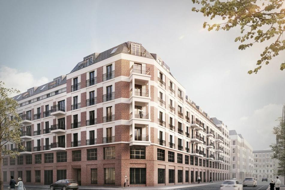 Das Gebäude soll bis 2023 errichtet sein und sowohl als Wohn- als auch als Geschäftshaus fungieren.