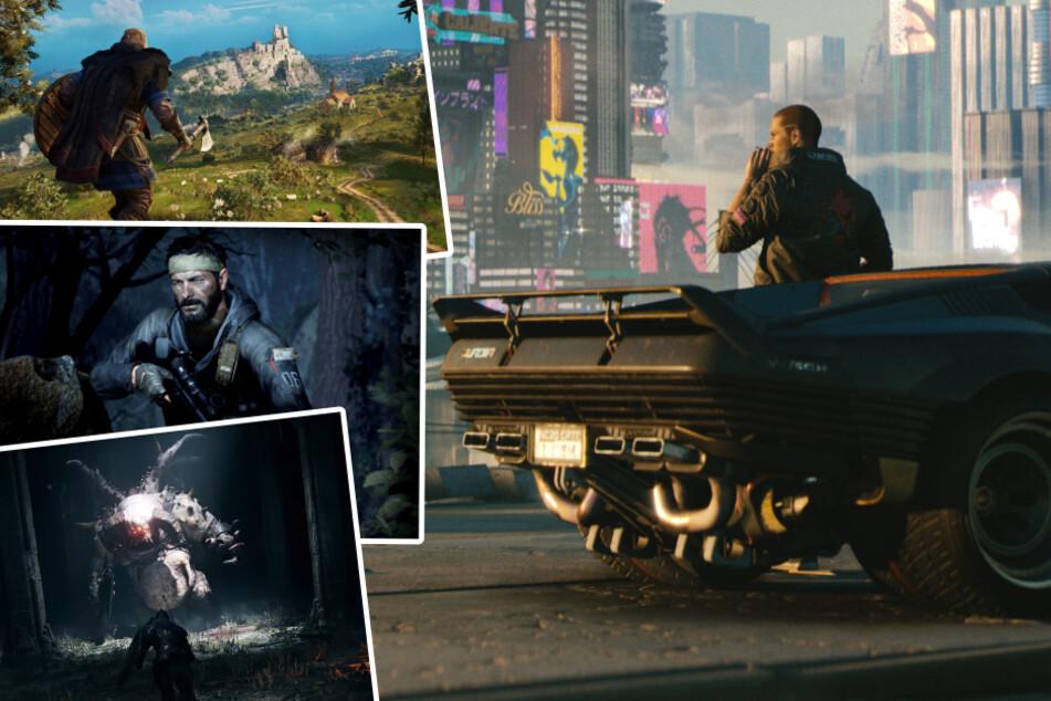 """""""Cyberpunk"""", """"Assassin's Creed"""" und """"COD"""": Der November steckt voller Spiele-Kracher!"""