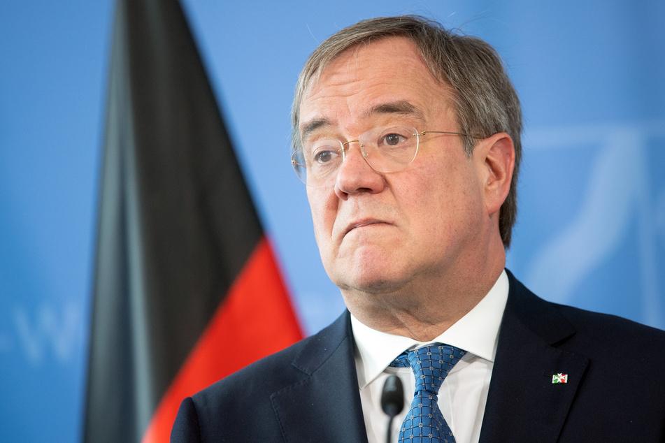 NRW-Ministerpräsident Armin Laschet (CDU) äußerte sich am Dienstag in einer Pressekonferenz.