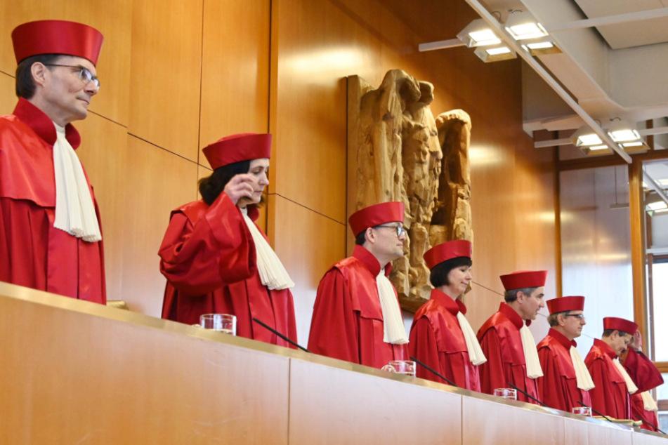 Die Richter am Bundesverfassungsgericht werden entscheiden.