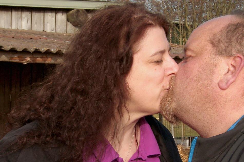 Endlich zusammengezogen: Bianca (46) wohnt mittlerweile bei Thomas (43) in Hessen. Das Paar genießt die Zweisamkeit.
