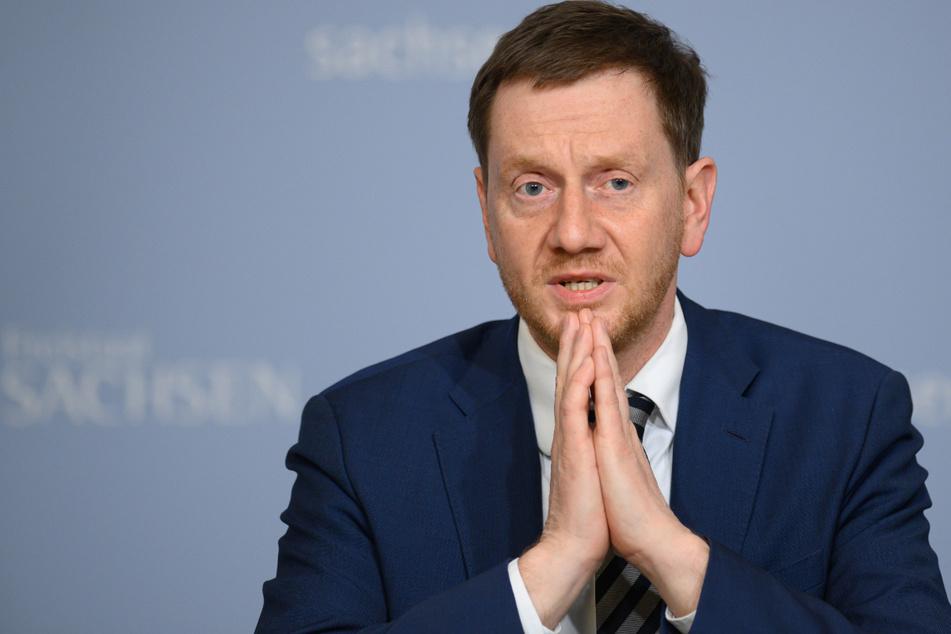 Sachsens Ministerpräsident warnt, was der Weg in einen dritten Lockdown sein könnte