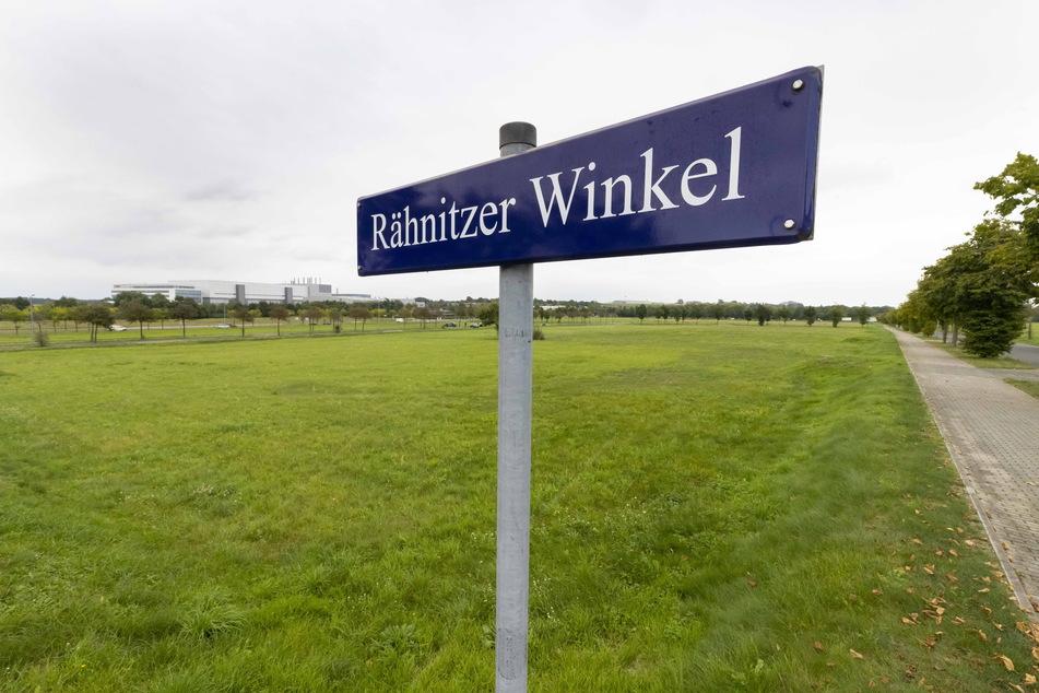 Auf dieser Fläche im Airportpark soll für 70 Millionen Euro eine neue Fabrik entstehen.