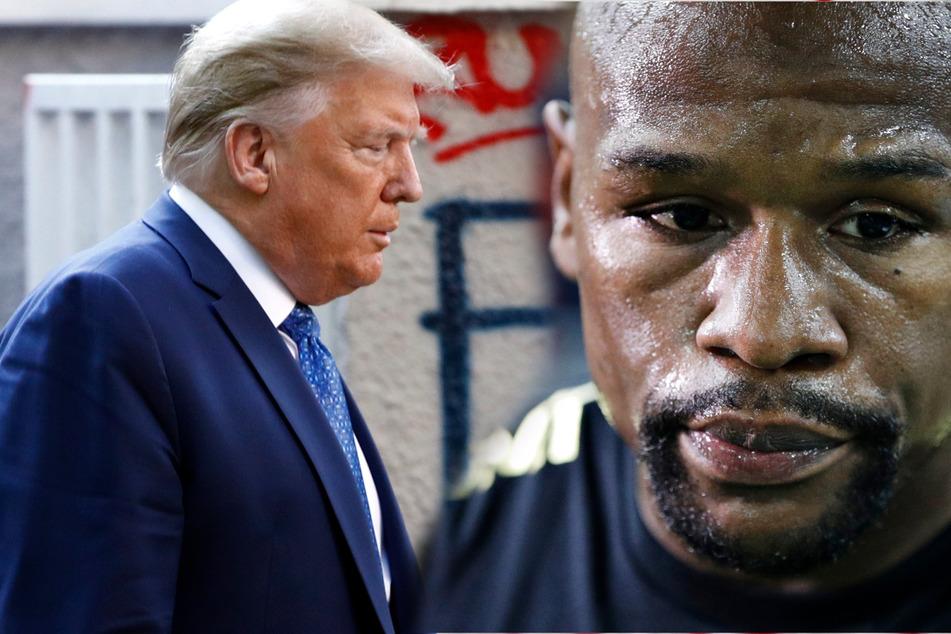 Nach Tod von George Floyd: Boxer zahlt für Beerdigung, Trump droht mit Militär