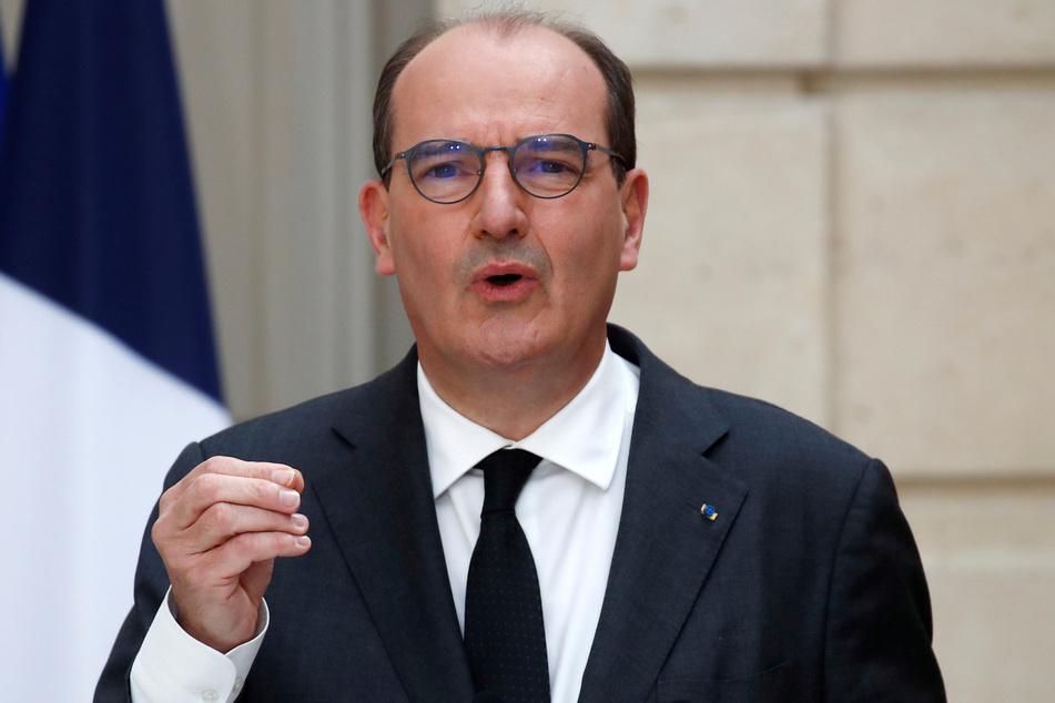 Der französische Premierminister Jean Castex (55).