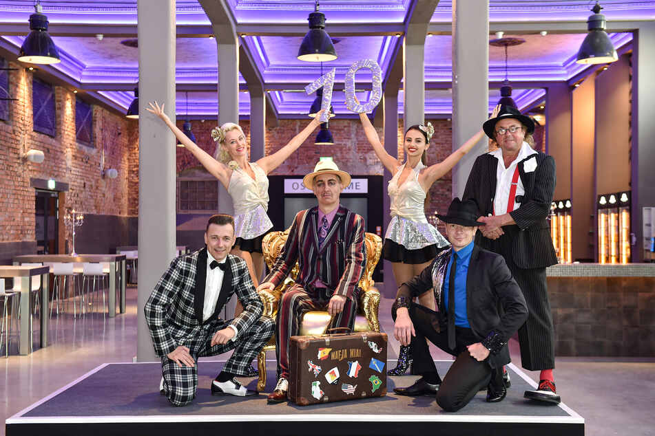 Die Mafia-Mia-Show wird zehn Jahre alt, auch in ihrem Jubiläumsjahr ist sie wieder im Ostra-Dome zu sehen.