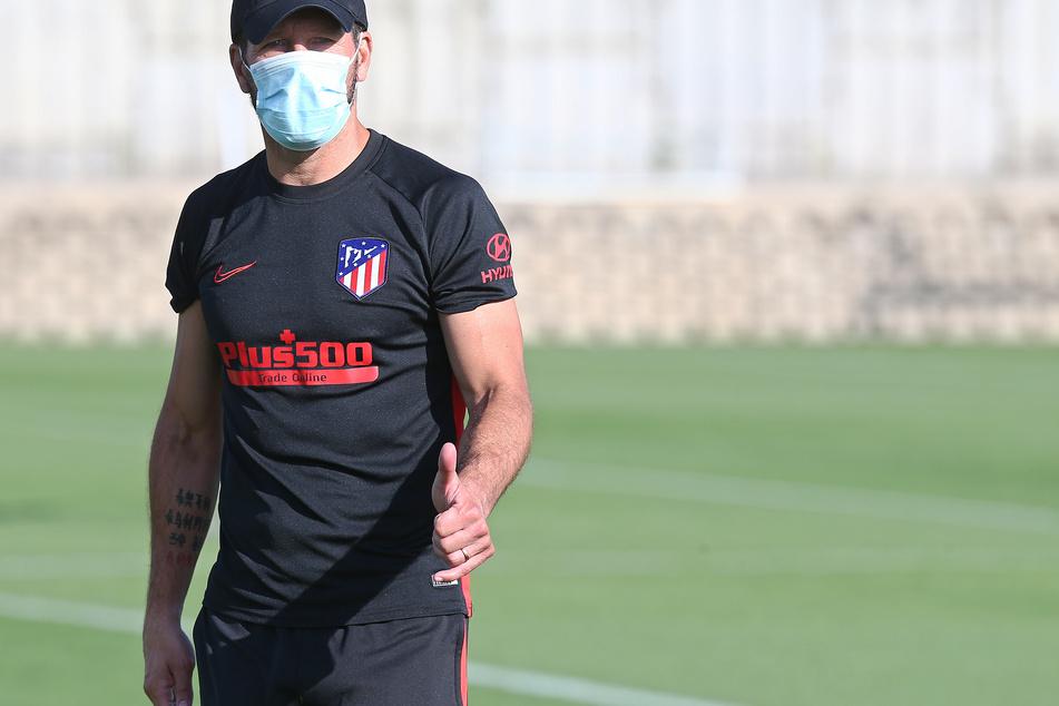 Diego Simeone, Trainer von Atletico Madrid.
