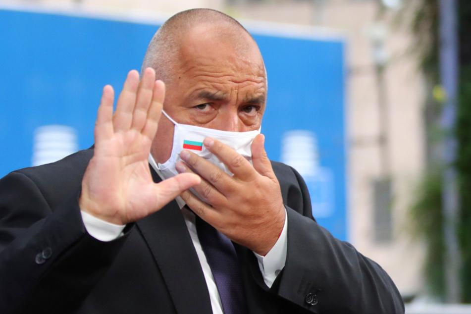 Der bulgarische Regierungschefs Boiko Borissow (61).