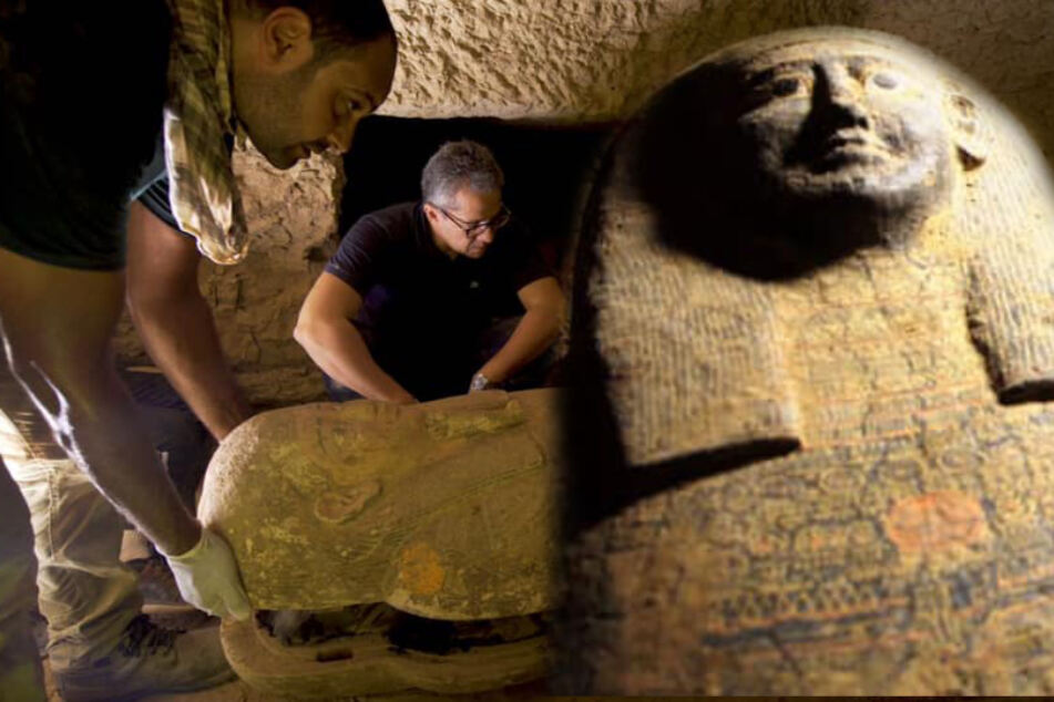 Researchers discover 2,500-year-old coffins in Egypt