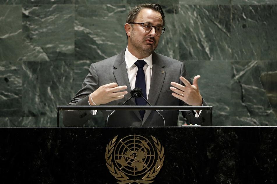 Luxemburgs Premierminister Xavier Bettel (48) hat Morddrohungen erhalten.