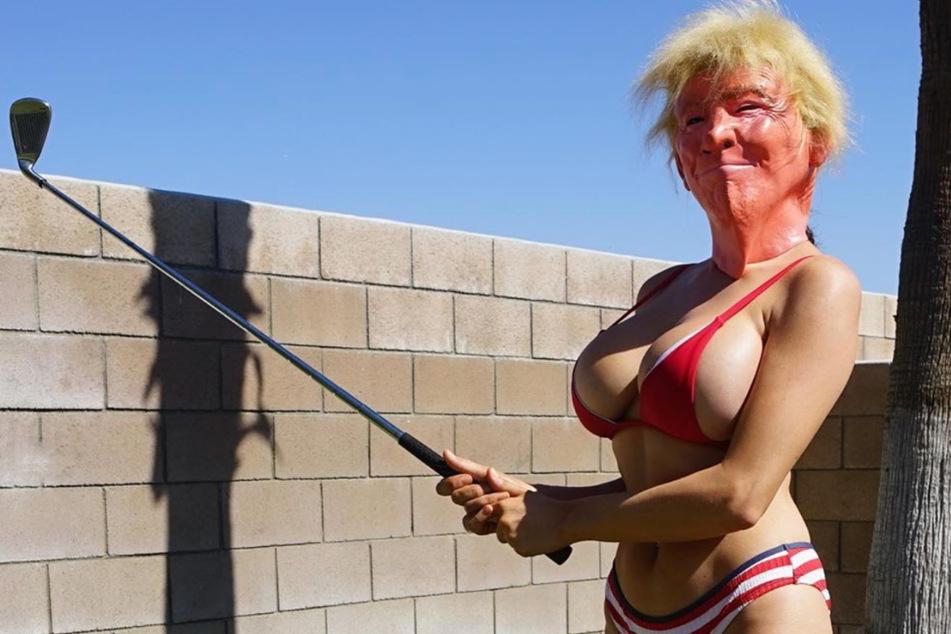 Ist sie für oder gegen Trump? TV-Star verwirrt Fans mit sexy Wahlaufruf