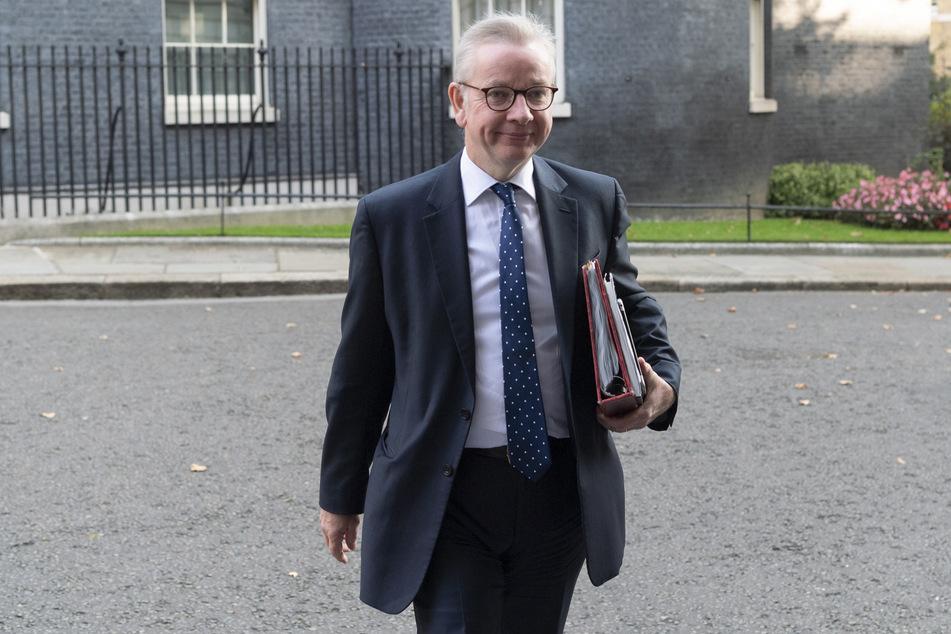 Michael Gove, Kanzler des Herzogtums Lancaster und Staatssekretär für Kabinettsangelegenheiten, kommt nach einer Kabinettssitzung in die Downing Street.