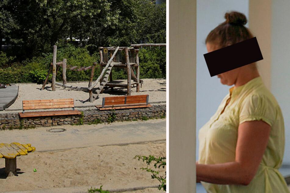 Beamten bespuckt, Polizistin gebissen: Wenn Mutti auf dem Spielplatz ausrastet