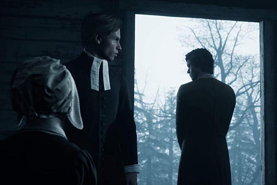 Rückblicke katapultieren Euch immer wieder in die Vergangenheit. Dort ist die Angst vor Hexen sehr groß.
