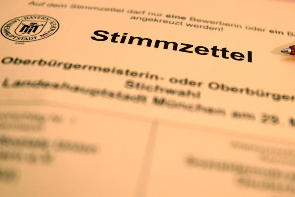 Wählen in Zeiten der Corona-Krise: So läuft Bayerns historische Stichwahl