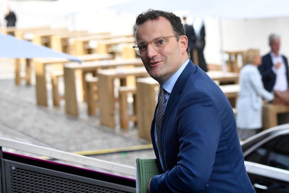 Jens Spahn (40, CDU), Bundesminister für Gesundheit, kommt am Mittwoch zur Vorstands-Klausur der CDU/CSU-Bundestagsfraktion. Die Klausurtagung findet im Westhafen Event & Convention Center in Berlin statt.