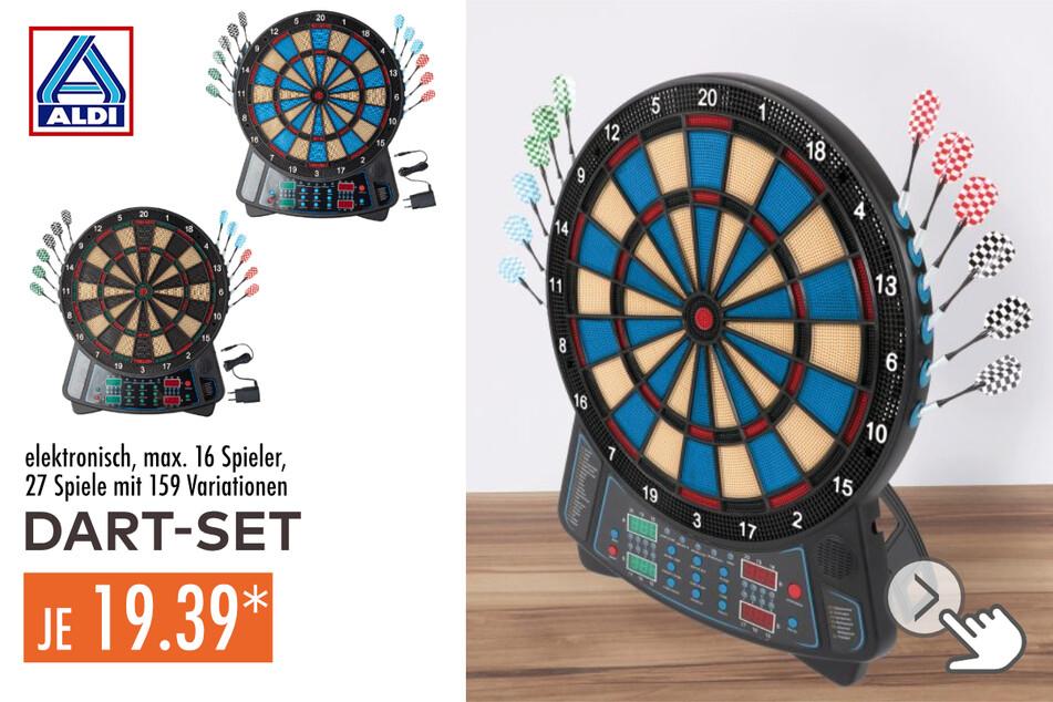 Elektronisches Dart-Set in den Farbvarianten Blau oder Grün für 19,39 Euro
