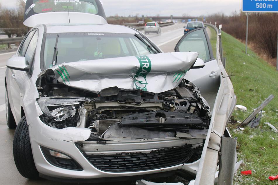 Ekel-Wetter führt zu mehreren Unfällen auf Leipzigs Autobahnen!