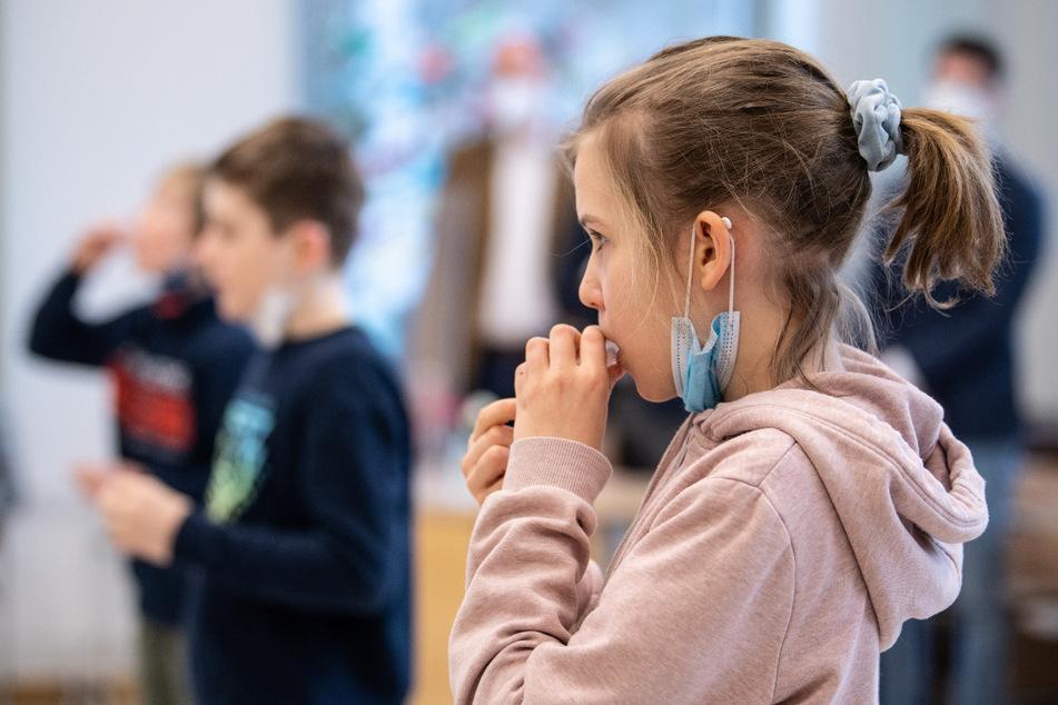 Sachsen setzt auf eine Test-Offensive zum Schulstart. (Symbolbild)