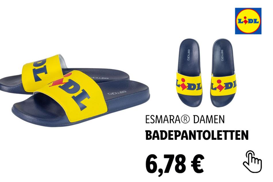 ESMARA® Damen Lidl-Badepantolette