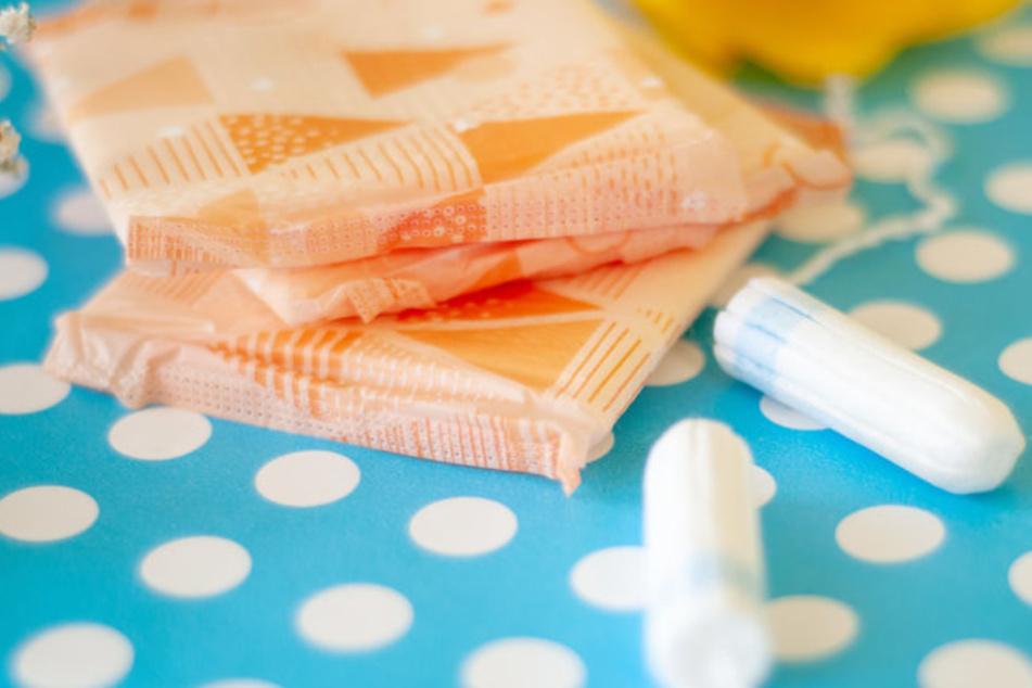 Binden und Tampons gibt es hier bald kostenlos