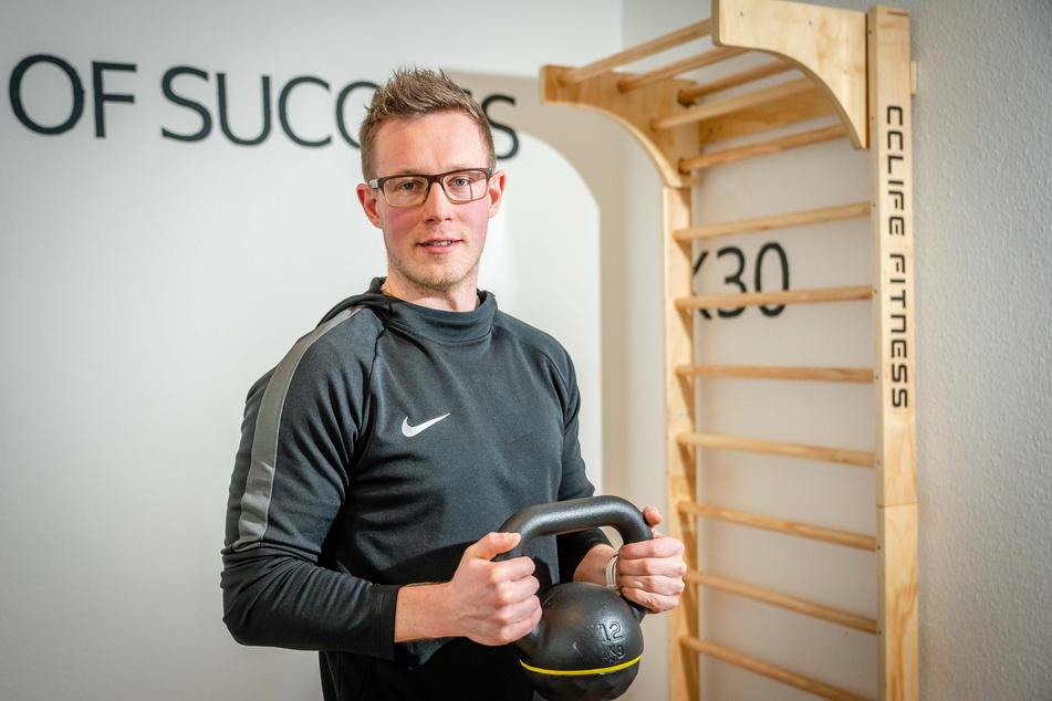 Tobias Künzel (28) ist Personal Trainer in Chemnitz.