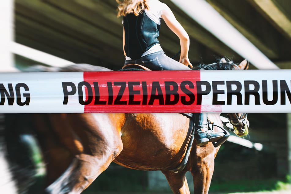 Sturz nimmt tragisches Ende für Reiterin und Pferd