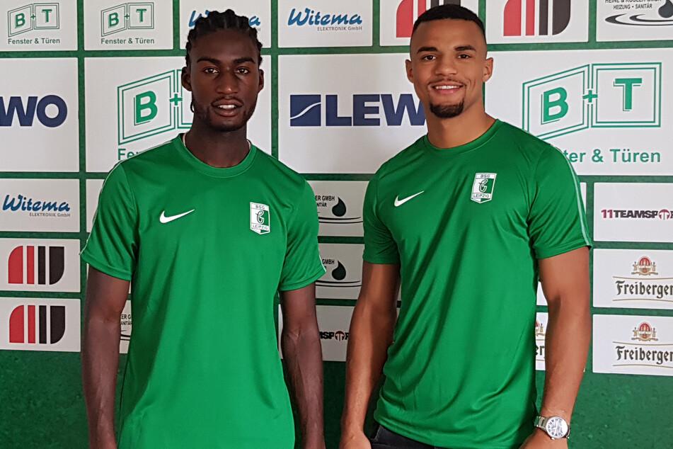 Morgan Faßbender (21) und Benjamin Luis (20).