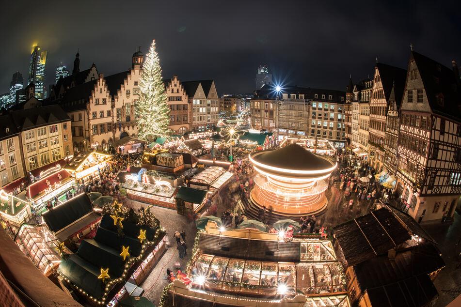 Der Frankfurter Weihnachtsmarkt wurde wegen zu hoher Corona-Zahlen abgesagt.