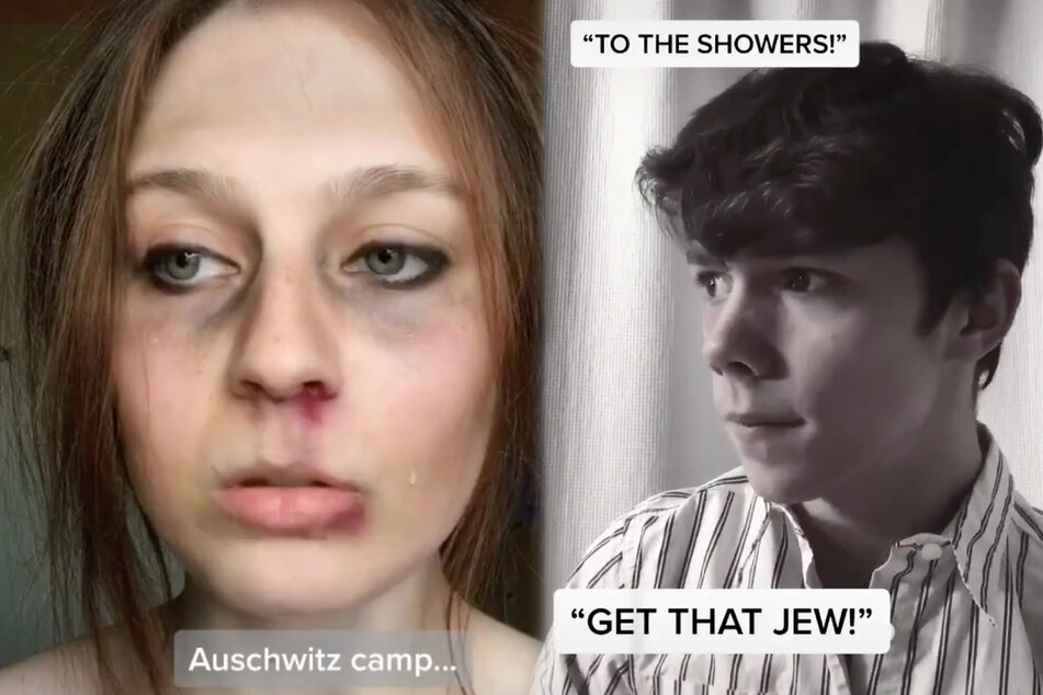 Is this the most disturbing trend on TikTok? Young people dress up as Holocaust victims
