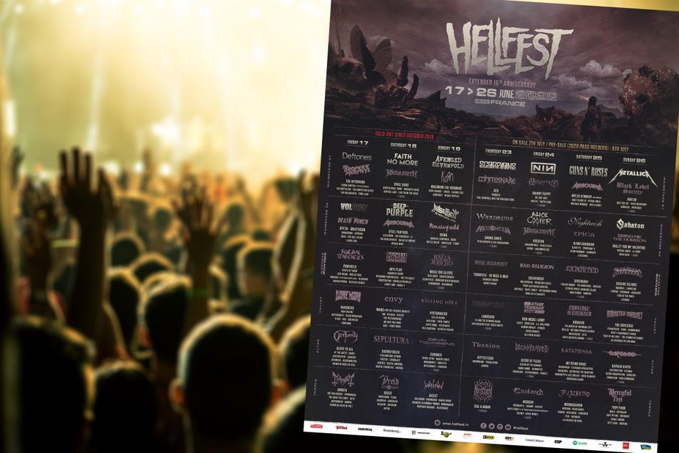 """Was für ein Line-Up! Das """"Hellfest"""" versammelt 2022 alles, was eine Gitarre halten kann!"""