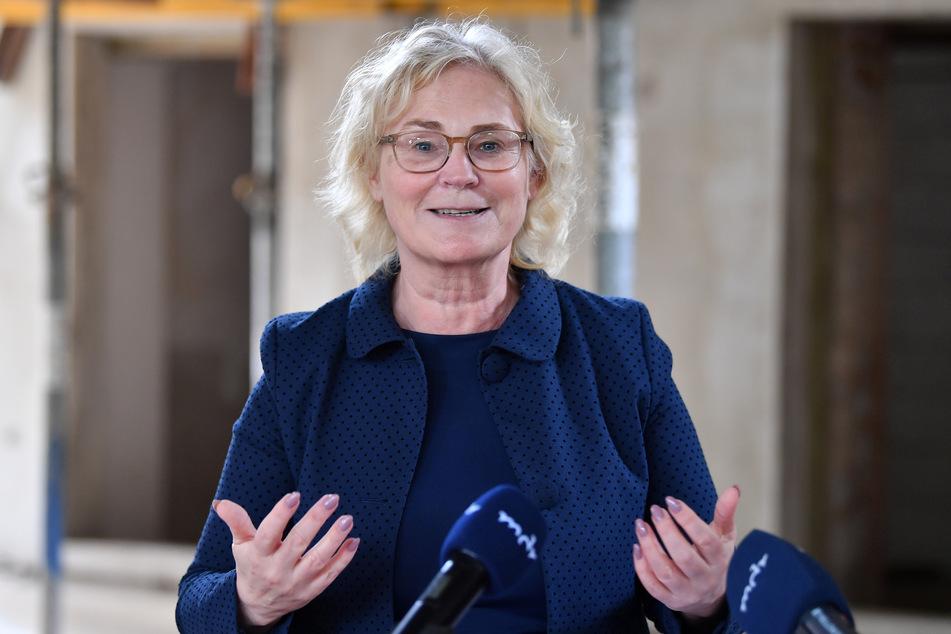 Christine Lambrecht (56, SPD), Bundesjustizministerin.