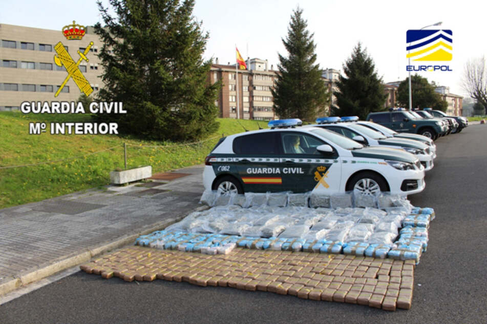 Nach monatelangen Ermittlungen hat die Polizei in Spanien nun eine mutmaßlich von einem Deutschen angeführte Drogenhändlerbande ausgehoben.