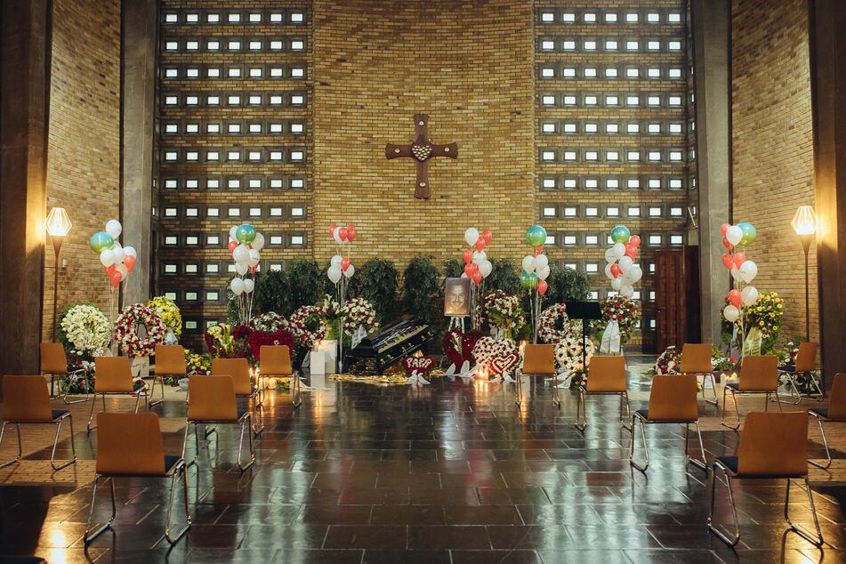 """Es war der Wunsch seiner Familie und Freunde, dass Willi Herren auf eine traditionelle """"Kölsche"""" Art beerdigt wird."""