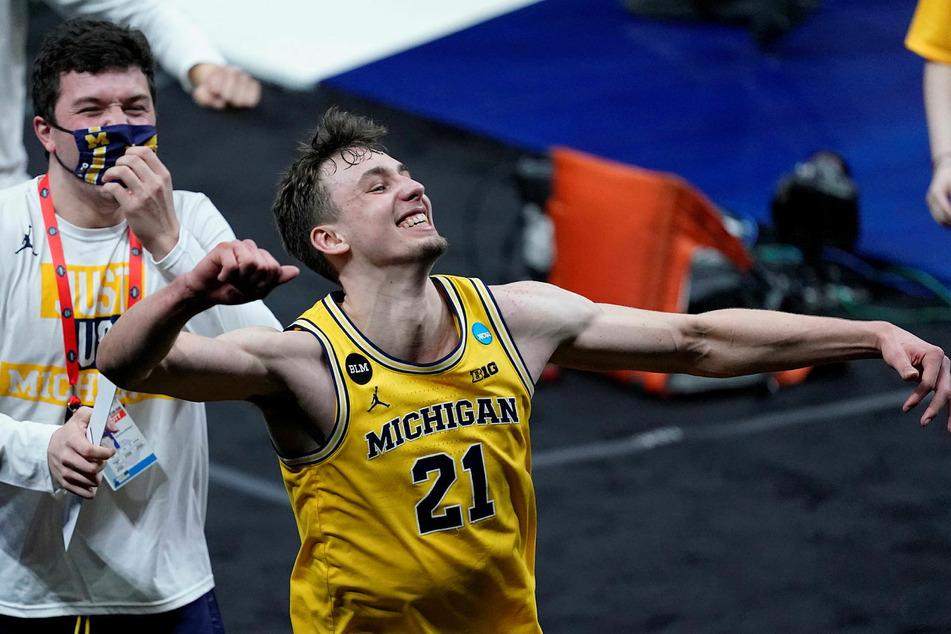 College-Basketball mit den Michigan Wolverines (hier der hochtalentierte Flügelspieler Franz Wagner) gegen die Florida State Seminoles.