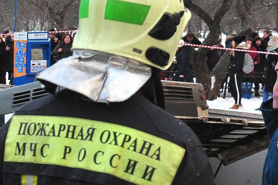 Ein russischer Feuerwehrmann (Symbolbild).