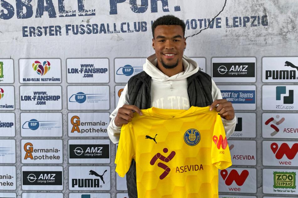 Eric Voufack (19) verstärkt in der kommenden Saison die Verteidigung von Lok Leipzig.