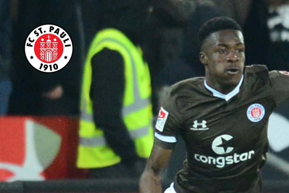 Christian Conteh wechselt vom FC St. Pauli zu Erstliga-Klub