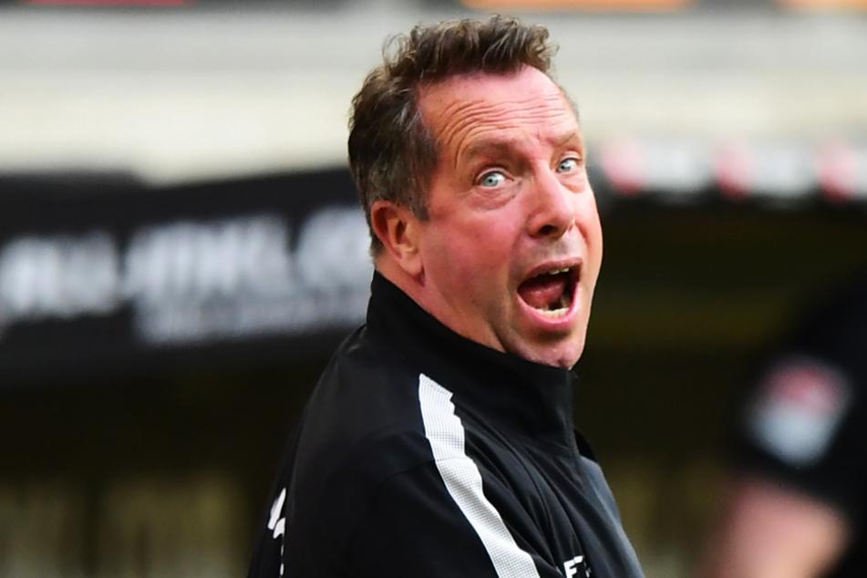 SGD-Coach Markus Kauczinski verlor mit seinem Team knapp gegen den HSV.