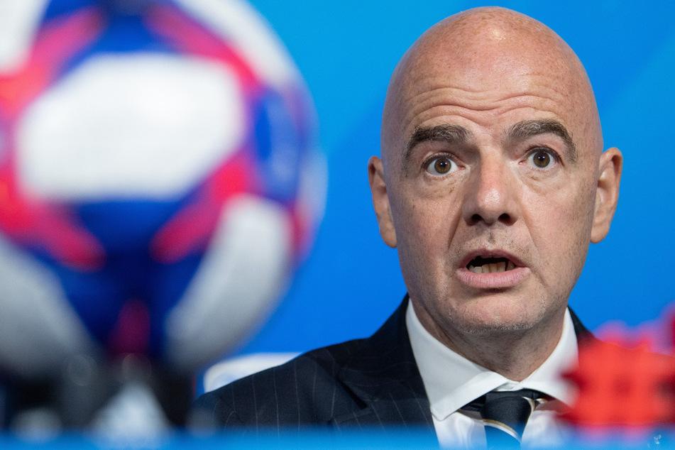 Gianni Infantino (50), Präsident der FIFA.