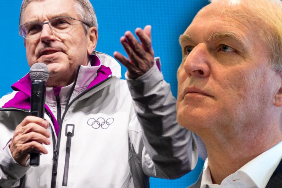Olympische Spiele: Früherer DLV-Chef Prokop wirft IOC-Präsident Bach Versagen vor