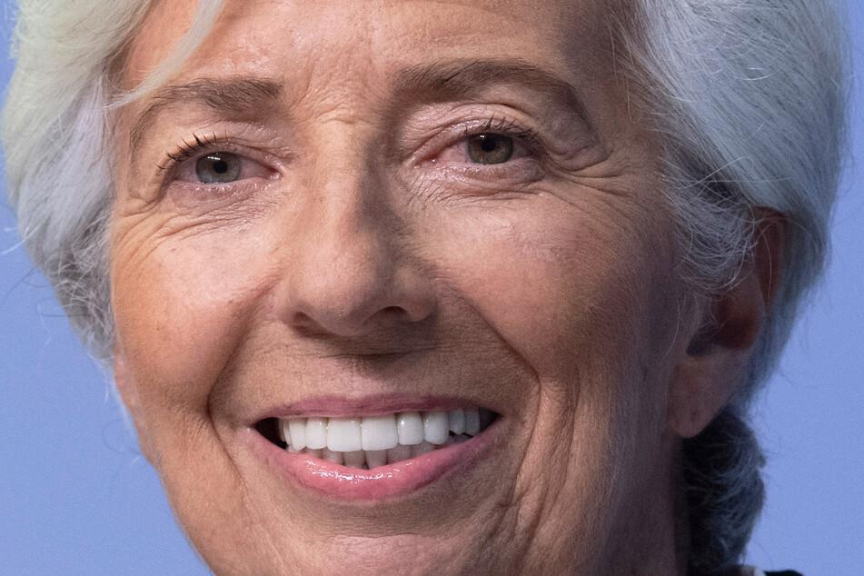 Christine Lagarde (64), Präsidentin der Europäischen Zentralbank (EZB).