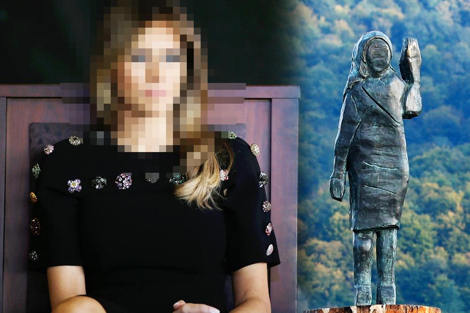 Prominente wird im Netz verspottet, weil ihre Statue völlig abstrus aussieht