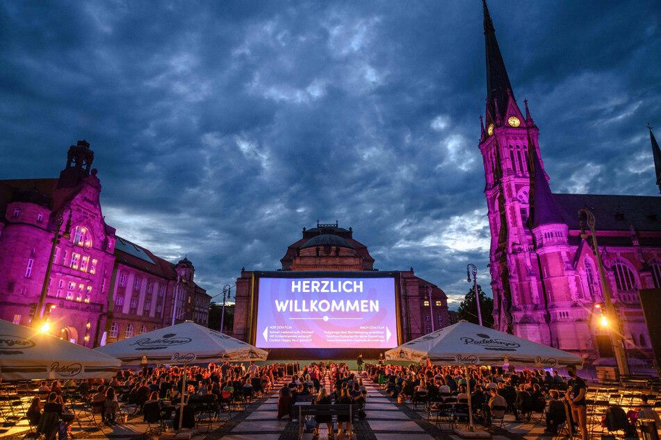Das Konzert ist einer der Höhepunkte bei den Filmnächten Chemnitz im Sommer.