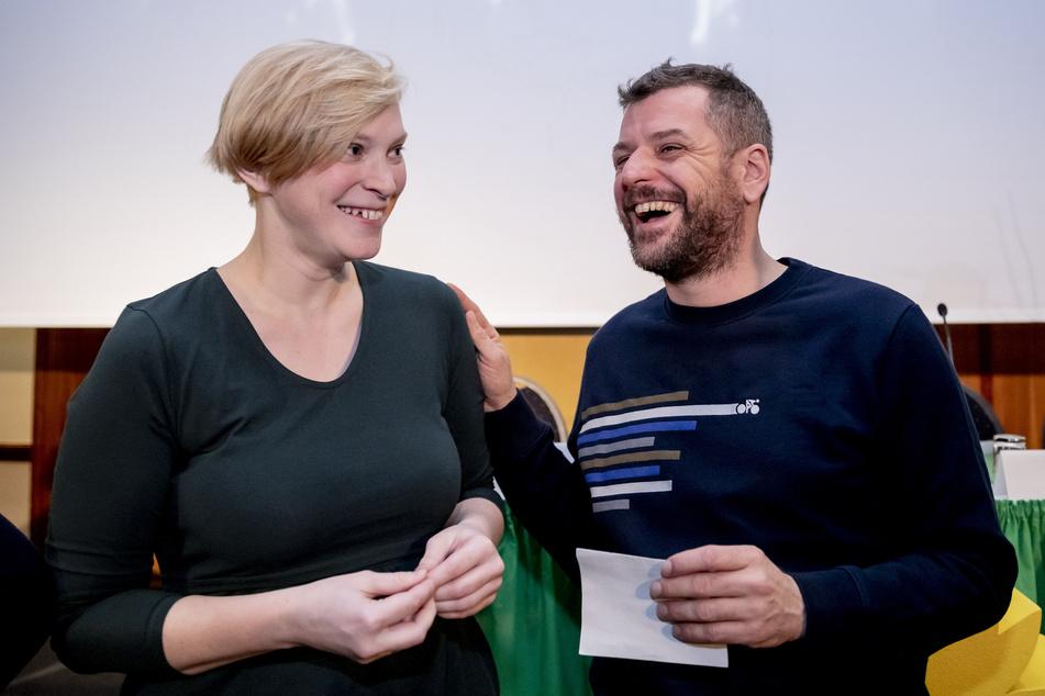 Berliner Grüne bestätigen Parteispitze: Stahr und Graf machen weiter!