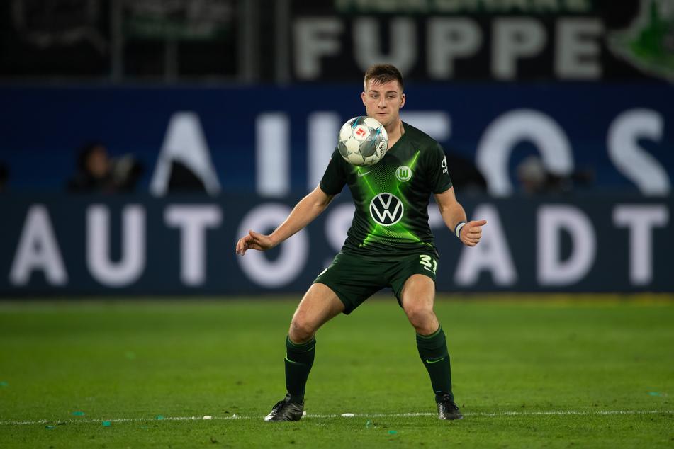 Robin Knoche (28) noch im Trikot seines Ex-Vereins VfL Wolfsburg.